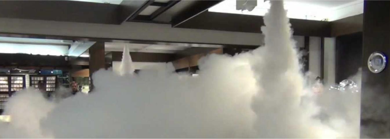 fog canon system